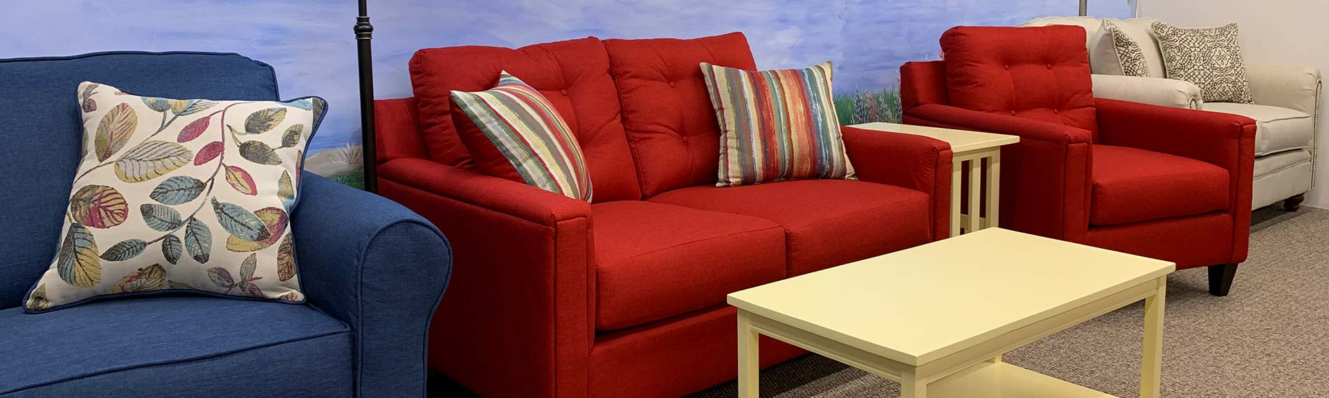 Once you experience the Merrill Furniture showroom  you will be satisfied  that you ve finally found the perfect furniture store. Maine furniture store offering living room furniture  dining room